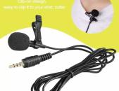 Mini Microphone երրաթե ամրակով 3.5mm bnikov mikrafon մինի միկրաֆոն միկռաֆոն 3.5