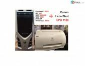 Համակարգիչ G630 H61 RAM 2GB / 500GB + տպիչ  Canon  LazerShot LPB 1120
