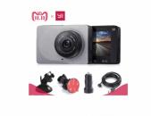 """Xiaomi YI Smart Dash Cam 2.7"""" 2019թ 1080P60 WI-FI DVR Videoregistrator + 64gb mi"""