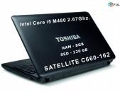 TOSHIBA SSD-ov 120GB 8GB notebook Core i3 M480 2.67Mhz նոութբուք, ноутбук