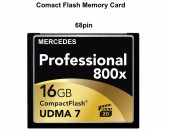 CF Card 16GB և 32G Compact Flash 800x UDMA7 Extreme Mercedes Nissan Memory ՄԱԳ ՖՈՏՈ PC