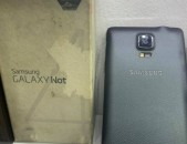 Samsung galaxy NOTE 4 32gb black, shat lav vichak, tupov, aparik texum 0%