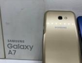 Samsung Galaxy A7 2017 GOLd nori pes, idealakan vichak, aparik texum 0%