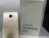 Samsung Galaxy A3 2016 gold, tupov, 16gb idealakan vichak, aparik texum 0%