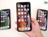Apple iphone  XS max  ekranneri poxarinum, kanxik ev aparik texum 0% kanxavchar, barcr vorak, cacr gin