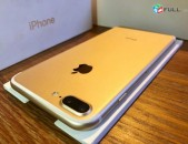 iphone 7 plus gold 128gb , idealakan vichakum , tupov, original , aparikov 0%