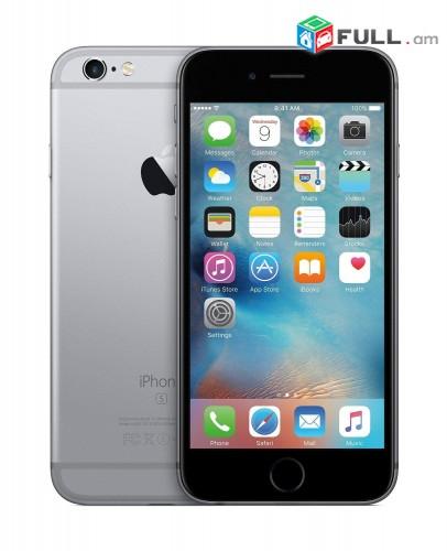 iphone 6s space gray 32gb լրիվ նոր , շատ ցածր գին, երաշխիք+ ապառիկ %
