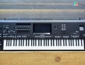 Yamaha Genos 76-Key թվային կազմակերպիչ կայան Ստեղնաշար սինթեզատոր