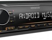 մագնիտաֆոն KENWOOD ավտոի բարցր որակի օրիգինալ բարձր որակ հզոր ձայն լուսաոր դիսպլեյ ֆլեշկաի տեղ