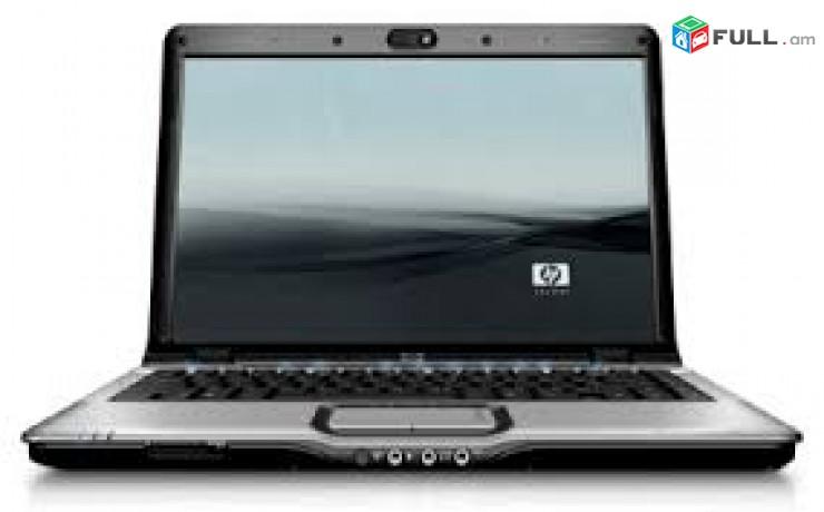 Նոթբուկ notbuk HP DV 2000 CPU AMD Turion 64x2 TL58