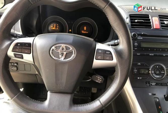 Toyota Auris Corolla Խեչբեկ 1,6 մոտոռ, 2010 թ. Գործ. Ձախ Ղեկ