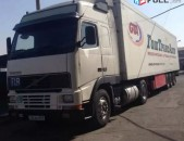 Volvo բեռնատար ավտոմեքենա` կիսակցորդով / bernatar Volvo /