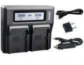 Zaradochnik Sony akumlyatori  ..Dual Fast Charger for Sony NP-F990