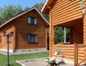 Փայտե տներ, փայտանյութ  փայտանյութի (մեծածախ) պատվերներ