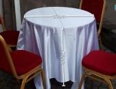 Վարձով վարձույթով սեղան աթոռ սպասք. prakat sexau ator spasq