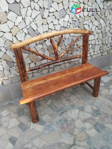 Փայտե նստարան, Скамейка из дерева