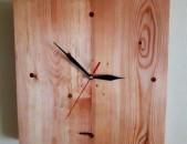 Պատի ժամացույց փայտից, pati jamacuyc