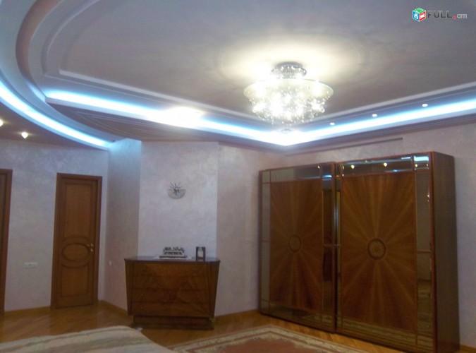 Տերյան փ. էլիտար շենքում  շքեղ  4 սենյակ + կահույք տեխնիկա +  2 տեղանոց ավտոտնակ