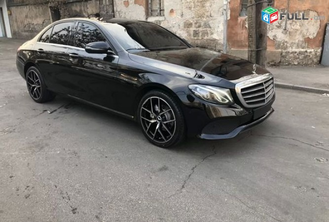 Mercedes-Benz E , 2017թ.