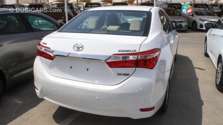Toyota Corolla , 2014թ.