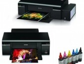 Գունավոր Պրինտեր: Epson L805 WIFI: 6 Գույն