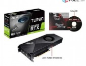 ASUS Turbo RTX 2080 8GB GDDR6 VR Ready Gaming Graphics Card Graphic Cards TURBO-