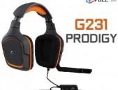 Logitech G231 Prodigy: Խաղային Ականջակալ