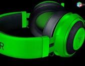Razer Kraken Pro Green: Gaming Ականջակալ