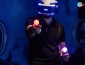 PlayStation VR + Borderlands 2 and Beat Saber խաղերը + Move + ապառիկ վաճառք PS4