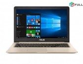 Բացառիկ Մոդելներ մեր սրահում * Asus VivoBook Pro N580VD-DB74T * I7 7700HQ * 16Gb