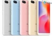 Հարմարավետ առաջարկ Xiaomi Redmi 6 * 64Gb = 4GB Ram + ապառի կ