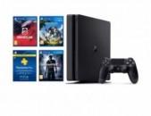 Գերժամանակակից PS4 Playstation 4 SLIM 500GB / 3խաղ ապառիկ