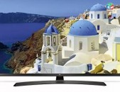 """Նոր սերնդի 4K Display LG 49UJ634V * Smart TV / 3840x2160 (4K) 49"""" 124սմ Smart TV"""