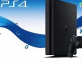 Միմիայն Օրիգինալ / Երաշխիքով - SONY PS4 / SONY Playstation 4 Slim 500Gb Ապառիկ 0