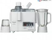 Արդեն Նոր մոդելներ * Panasonic Juicer Blender MJM-176 / 3 In 1 Juicer Blender an