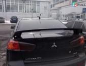 Mitsubishi lanser spoler. spoiler. spoyler. spoller