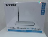Tenda 150Mbps Wireless-N 3G / 3.75G Router Wi-Fi
