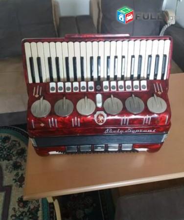 Palo Soprani 120 bas akordeon akardion