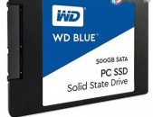 Nor + antaneli arag * WD blue 500gb internal SSD - sata 6gb / s 2.5 inch - wds50