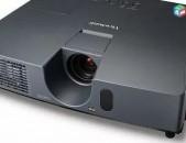 Վարձով full hd hzor projector 4000 lumen. անվճար տեղափոխում, տեղադրում proektor