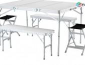 Սեղան աթոռ, sexan ator, camping, piknik, пикник
