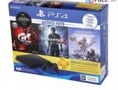 PS4 PlayStation 4 500GB + GTS + UC4