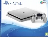 Ps4 Playstation4 Ps 4 slim nor 10-15xaxov + 1t erasxiq + HDR VR Silver Limited E