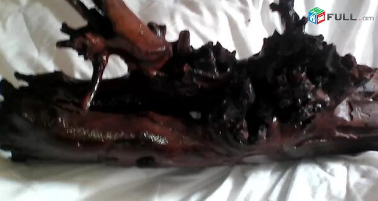 Аквариумная коряга -сучковатая дуплянка