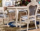 Սեղան ճաշասենյակի աթոռներով 02