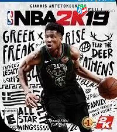 Playstation 4 Խեղեր Ps 4 Ps 3 Լիցենզիոննի ու երաշխիքով Օրիգինալ փաթեթով NBA 2K19
