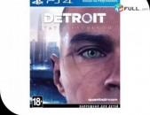 Playstation 4 Խեղեր Ps 4 Ps 3 Լիցենզիոննի ու երաշխիքով Օրիգինալ փաթեթով Detroit