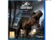 Ps4 Խեղեր Playstation4 Ps3 Լիցենզիոննի ու երաշխիքով Օրիգինալ փեթեթով Jurassic Wo