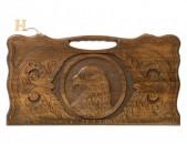Nardi Artsiv. Նարդի Արծիվ. Нарды орел. Backgammon Eagle