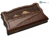 Nardi Ararat / Backgammon Ararat Size 15 / 30 / Гара Арарат / Արարտ լեռ